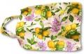 Bassano italienische Baumwoll Tasche Einkaufstasche Zitrone NEU